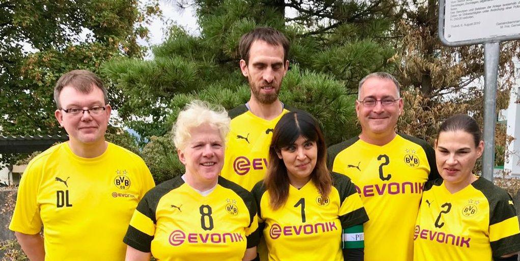 Mannschaft des BVB beim Turnier in Zürich