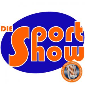 """Logo """"Die Sport Show"""" von MeinSportRadio.de"""