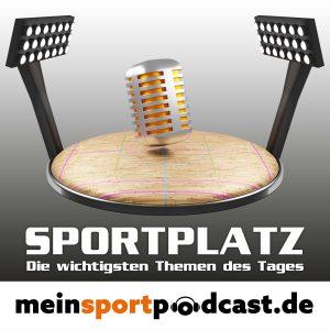 """Logo zur Sendung """"Sportplatz"""" von MeinSportPodcast.de"""