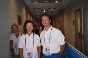 Alexander Knecht mit Königin Sylvia von Schweden 2004