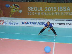 Alexander Knecht in Aktion als Schiedsrichter in Seul 2015
